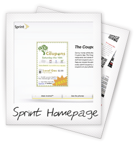 Sprint Featured Apps Homepage - The Coupons App
